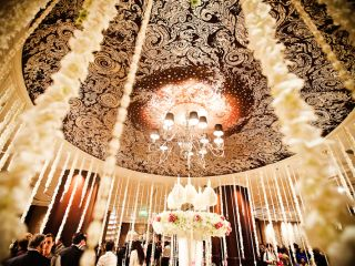 Beautiful Decor of the InterContinental Bangkok's Wedding Venue